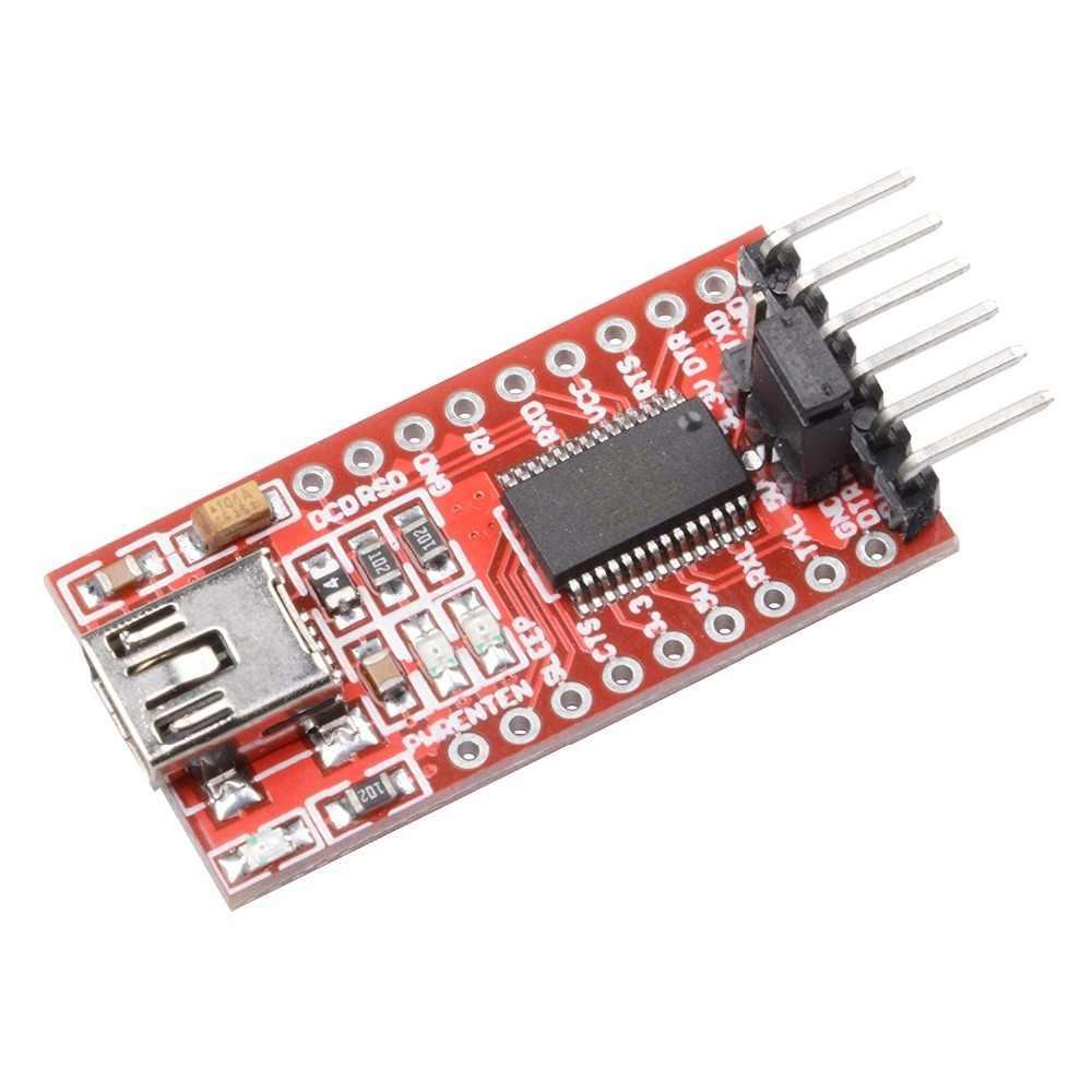 FT232RL FTDI USB 3.3 V 5.5 V に TTL シリアルアダプタモジュール arduin 用のミニポート