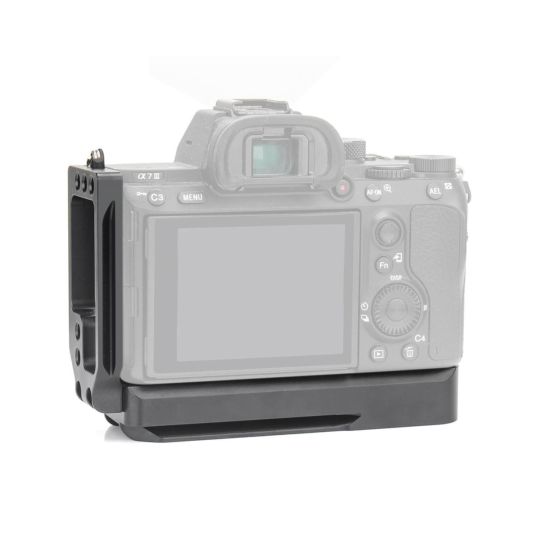 Pour Sony A7M3 A7R3 A9 A7III L Plaque Support En Alliage D'aluminium De Poche Quick Release Embase pour DSLR Photographique Accessoires
