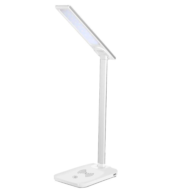5V 2A USB Charge LED Reading Lamp Folding Dimmable...