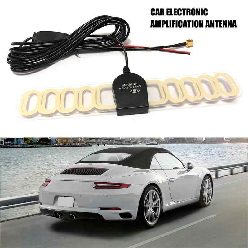 Автомобильная электронная усилительная антенна автомобильная радио FM ТВ сигнал