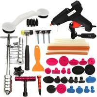 Hot Sale PDRs Tools Car Repair Tool Set Dent Removal Slide Hammer Puller Lifter Kit Paintless Dent Repair Tabs with Glue Gun