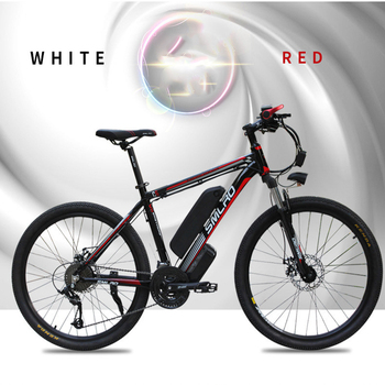 Can be customized Smlro 48v 15A 350W 26 Inch Motor-driven electric bike Bicycle Mountain Vehicle bicicleta electrica ebike 1
