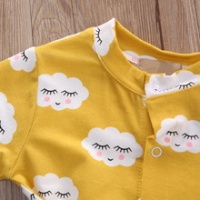 Newborn Infant Baby Kids Girls Clothes Jumpsuit Romper Outfits Set