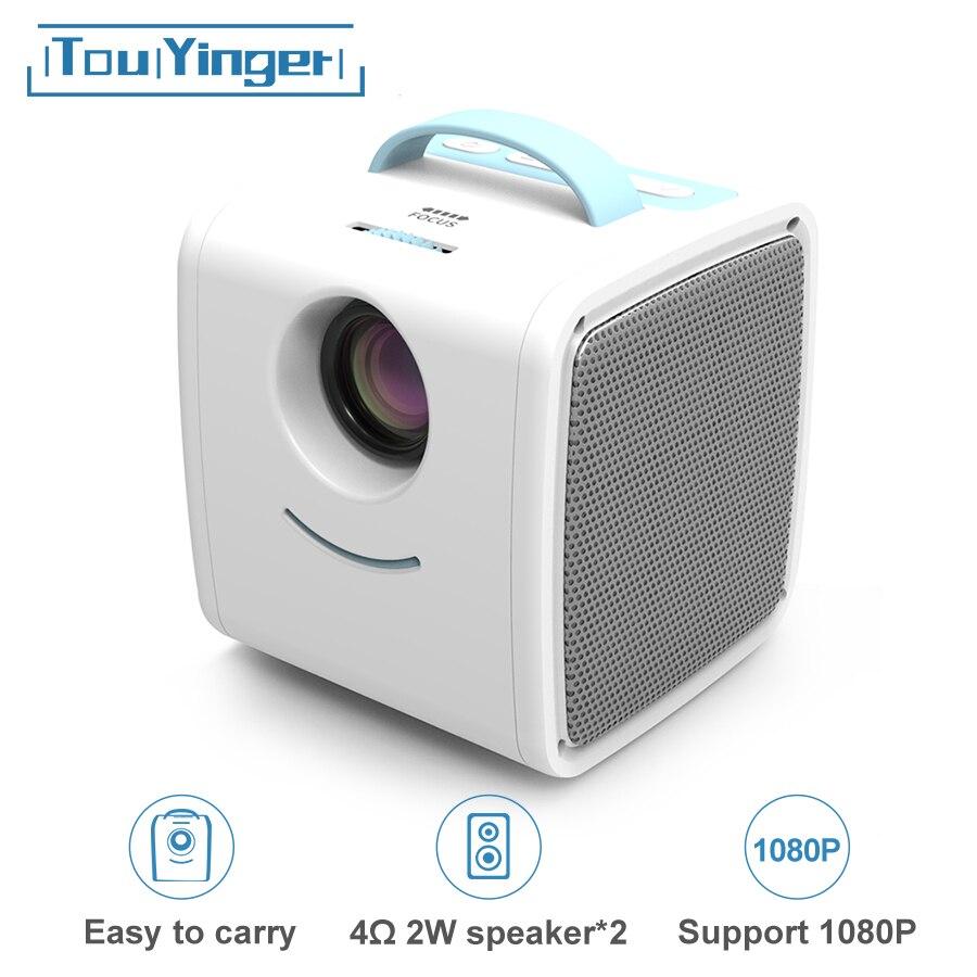 Mini Projector Q2 Children Gift Multimedia Home Theater Support 1080P USB AV