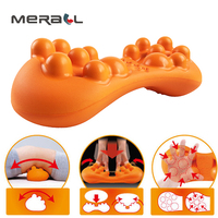 Massager For Waist Ventouse Anti Cellulite Massage Pad Massaging Beauty Health Physiotherapy Relaxation Women Orange Products