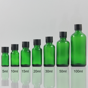 100pcs/lot 1 ounce juice serum container , 30 ml essential oil dropper bottle with white screw cap