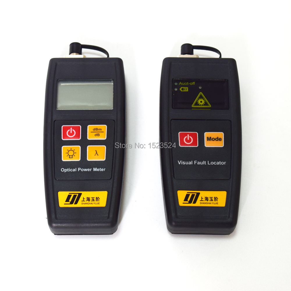 2 in 1 FTTH Tools with Mini Optical Fiber Power Meter 70 6dBm and 1mW 5KM
