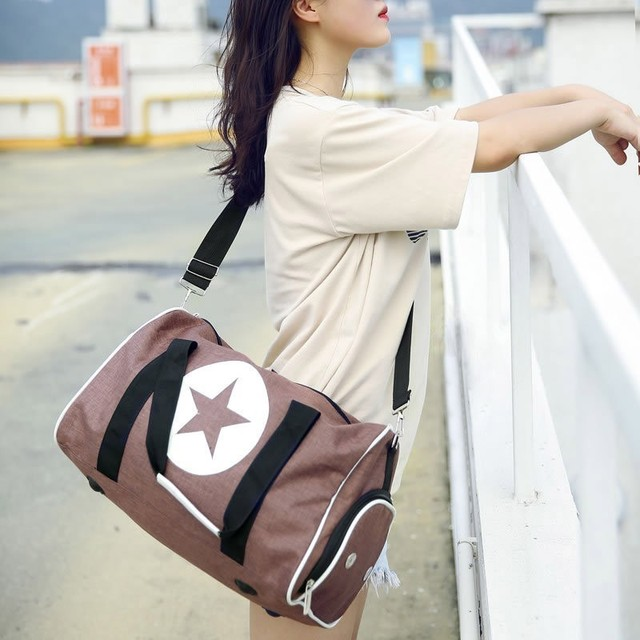 Star Print Waterproof Sports Bag 6 colors