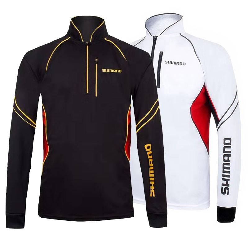 Spring Summer Long Sleeve Fishing Clothing Moisture Wicking Quick-Drying Anti-UV Sun Protection Fishing Shirt Sports ClothesSpring Summer Long Sleeve Fishing Clothing Moisture Wicking Quick-Drying Anti-UV Sun Protection Fishing Shirt Sports Clothes