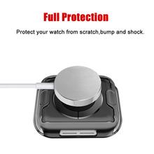 360 schlank Uhr Abdeckung für Apple Uhr Fall 6 SE 5 4 3 2 1 42MM 38MM Weichen klar TPU Screen Protector für iWatch 4 3 44MM 40MM cheap ProBefit RUBBER CN (Herkunft) Uhrengehäuse For Apple watch