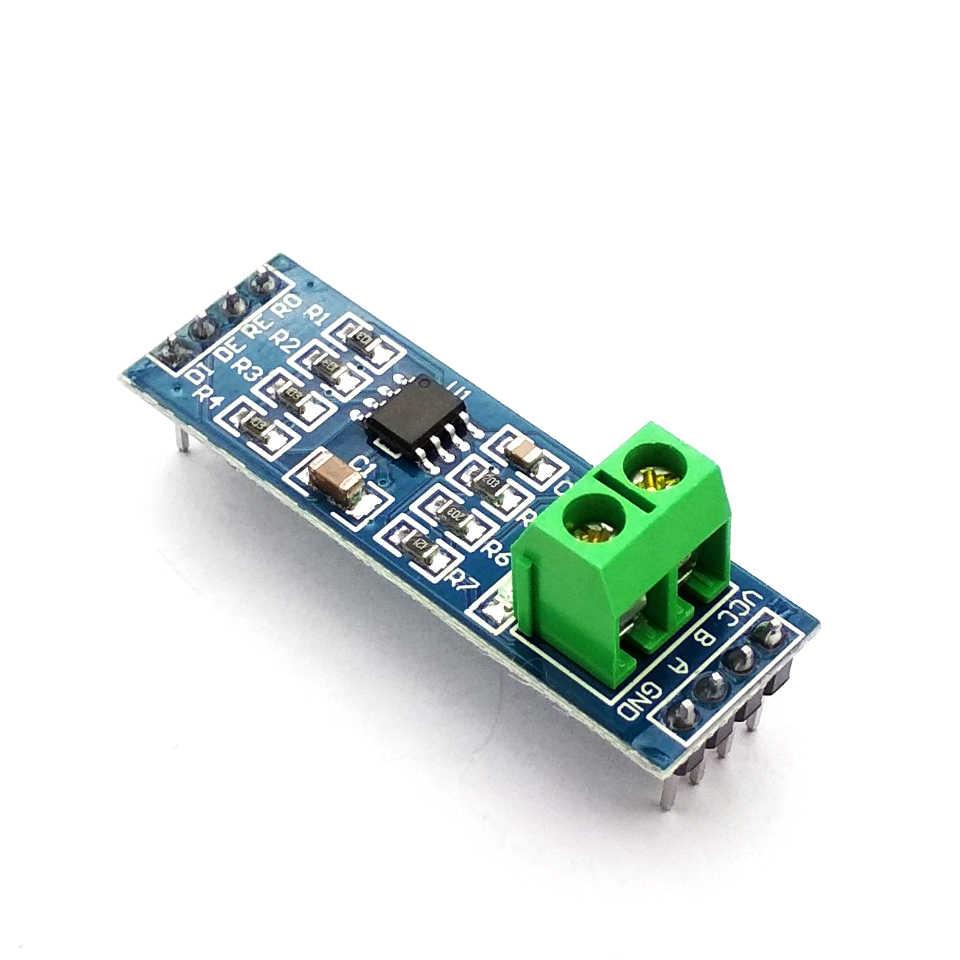 MAX485 Module RS-485 TTL Turn To RS485 MAX485CSA Converter Module For Uno Microcontroller MCU Development Accessories