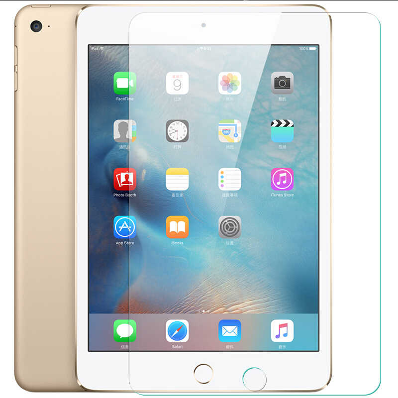 Tablet Tempered Glass For Apple iPad 2 3 4 Toughened Glass For Apple iPad Air Air1 Air2 Scratch Proof LCD Screen Protector Film