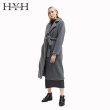 HYH HAOYIHUI Women Faux Fur Long Sleeve Winter Loose Comfortable Straight Tube