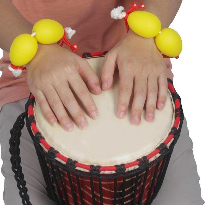 1 Pc Kunststoff Trommel Afrikanische Percussion Begleitung Instrument Rhythmus Musical Instruments Kinder Pädagogisches Spielzeug Komplette Artikelauswahl