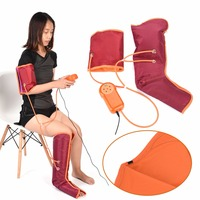 Electric Leg Arm Cuff Massage Machine Circulation Leg Wraps Air Compression Arm Leg Massager For Arm Foot Calf Physical Therapy
