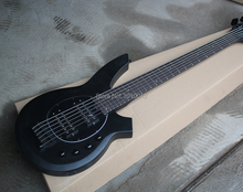 Factory Matte Black 6-String Electric Bass Guitar with Rosewood Fretboard,Black Hardwares,Active Circuit,Can be Customized недорого