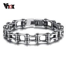 47a80e26a772 Vnox Vintage Viking pulsera de cadena de brazalete para hombres gótica  Pulseras Hombre de acero inoxidable