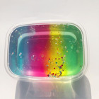 100ml DIY Colorful Clear Slime Toys Mixed Color Crystal Slime Mud Fluffy Slime Glue Gradient Color Cloud Slime