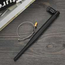 2,4 GHz WiFi антенна 5dBi антенна RP-SMA Male 2,4g антенна wi fi антенна wi-fi роутер+ 21cm PCI U. FL IPX to SMA штыревой кабель