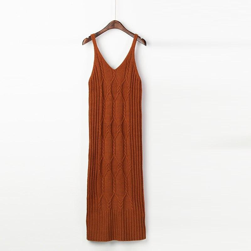 Pour Femmes D'hiver Pull coral silver Bandage Robe Mode L'hiver Tricoté Red Chandail Vintage Unif Robes Long Pink Chandails Automne BwB7F