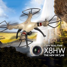 SYMA X8HW X8W Upgrade FPV RC Quadcopter Drone with WIFI Camera 2.4G 4CH 6Axis Headless Mode Helicopter Gifts for Friends ZLRC
