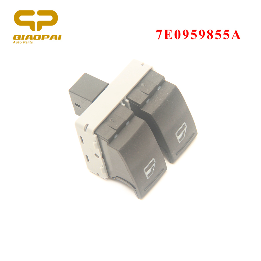 Auto Electric Car Window Switch Button Driver Side 7E0959855A 7E0 959 855A  For VW Transporter T5 05-09 T6 2009-2014