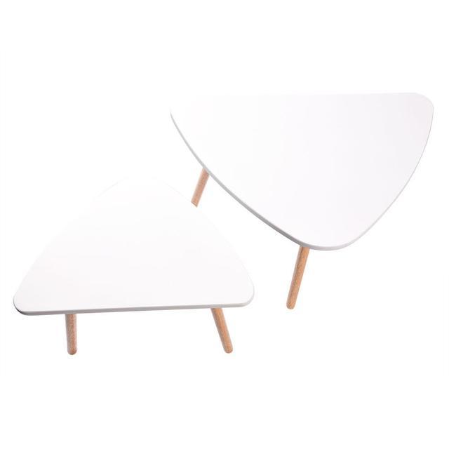2 قطعة طاولات خشبية حديثة مجموعة مكاتب لغرفة النوم غرفة المعيشة ديكور