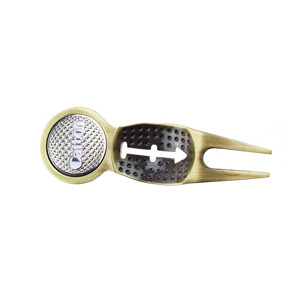 Image 5 - New small Golf Divot Tool Metal Green Hardware Tools Golf Accessories Sports Entertainment Golf Accessories support wholesale-in Golf Training Aids from Sports & Entertainment