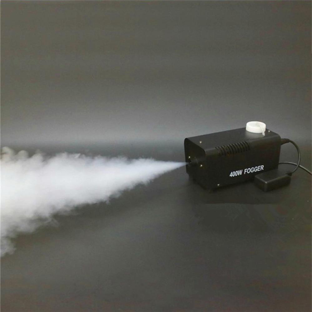 Máquina de fumaça/mini ejetor de fogger remoto/disco festa em casa estágio máquina de nevoeiro/400 w lança fumaça/máquina de desinfecção de atomização