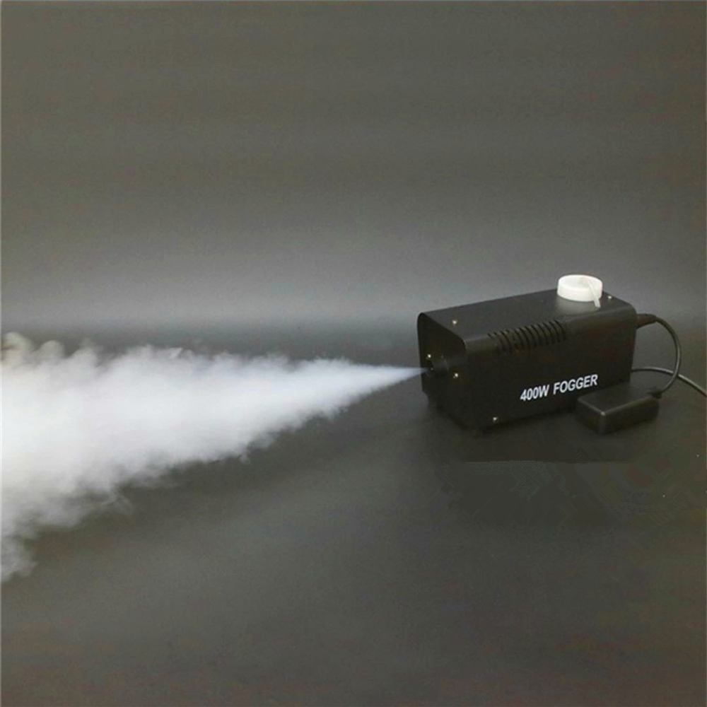 Smoke Machine/Mini Remote Fogger Ejector/Home Party Stage DJ Fog Machine/400W Smoke Thrower/Disco Wedding Portable Fog Thrower