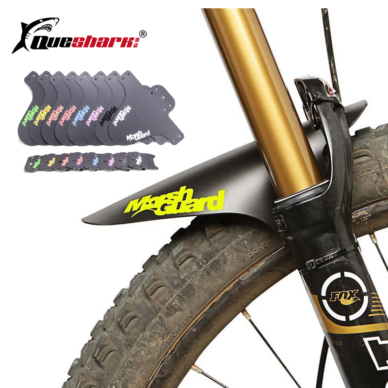 Colorful MTB Road Bike Mud Flaps Cycling Bicycle Wings Front Bicycle Mudguard For Mountain Bike Fenders Bicycle Fender(China)