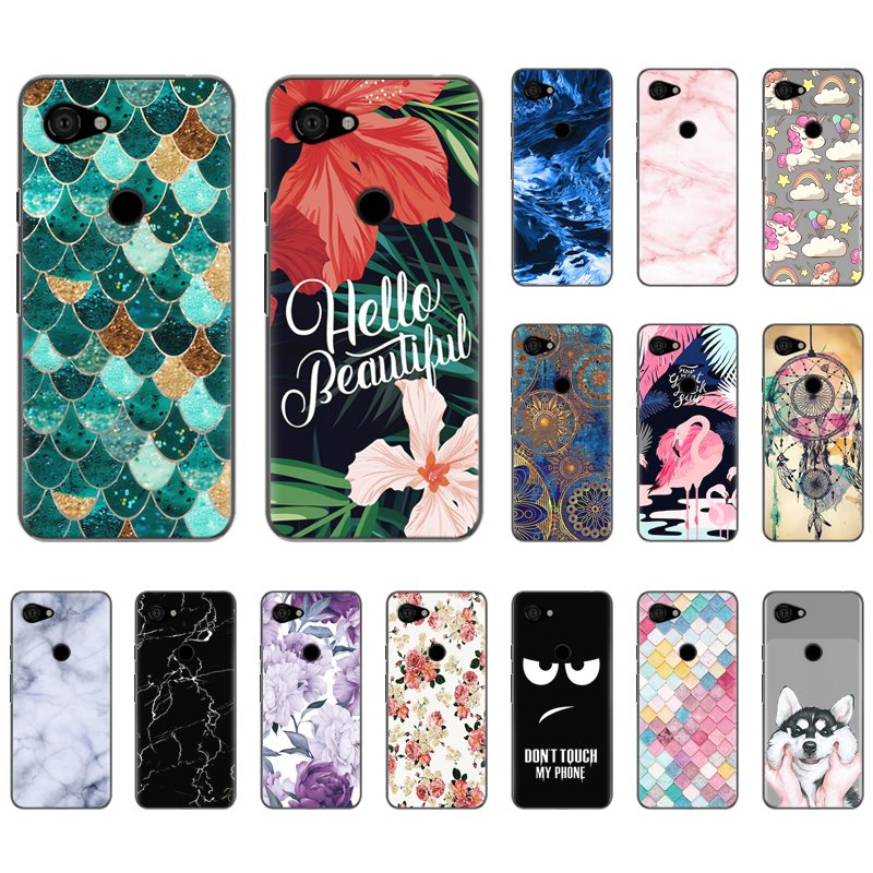 Back Phone Case For Google Pixel 3A / Pixel 3 Lite Stylish Design Colorful Pattern Soft Phone Case