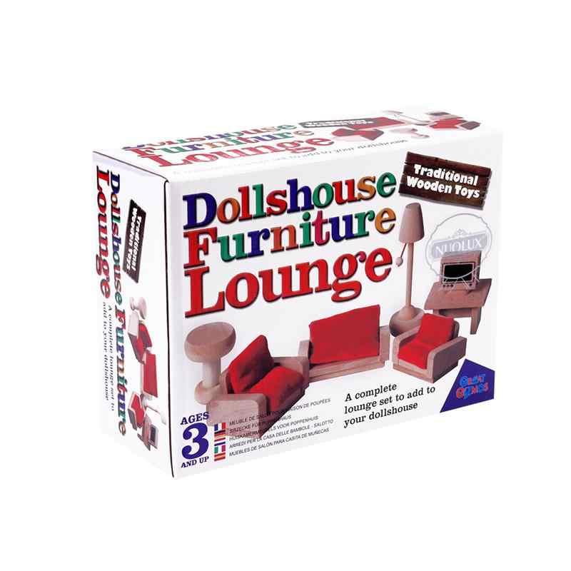 7 шт., имитационный мини-комплект для гостиной, настольный игровой набор, красный диван, игрушечная мебель, комплект для малышей, подарок на день рождения, для детей