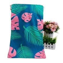Высококачественное цветное пляжное мягкое полотенце с цифровой
