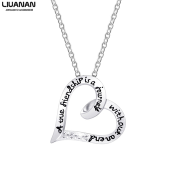 Friendship sisters by blood but sisters by heart Necklace for Women Girls 1