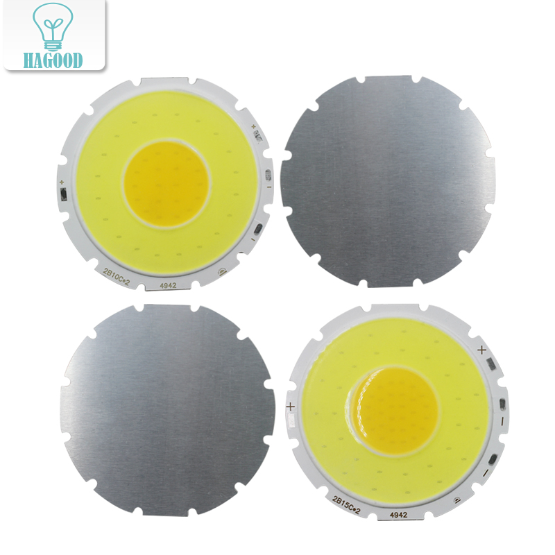 10W 15W COB LED Chip Double Color Temperature High Power Lamp Bead Board Two In One PCB For LED Bulb / Light