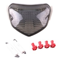 For Suzuki GSXR 600/750 2004 2005 LED Integrated Turn Signal Tail Light Motorcycle Smoke