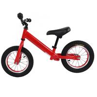 Children Bicycle Bike Road Mountain Children's Balance Scooter 12Inch 2 Wheel Red Color for 3~6 Years for Cycling