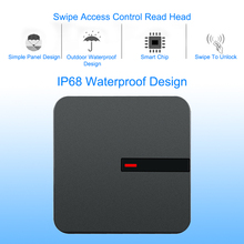 купить RFID Reader 125KHZ /13.56MHZ Proximity Card long range Reader Wiegand 26/34 IP68 Waterproof Access Control RFID ID Card Reader по цене 1039.49 рублей