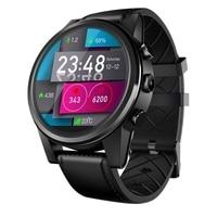 Тор 4 PRO 4G SmartWatch 1,6 дюймов Кристалл Дисплей gps/ГЛОНАСС 4 ядра 16 ГБ 600 мАч гибридный кожаный ремешок Смарт часы м