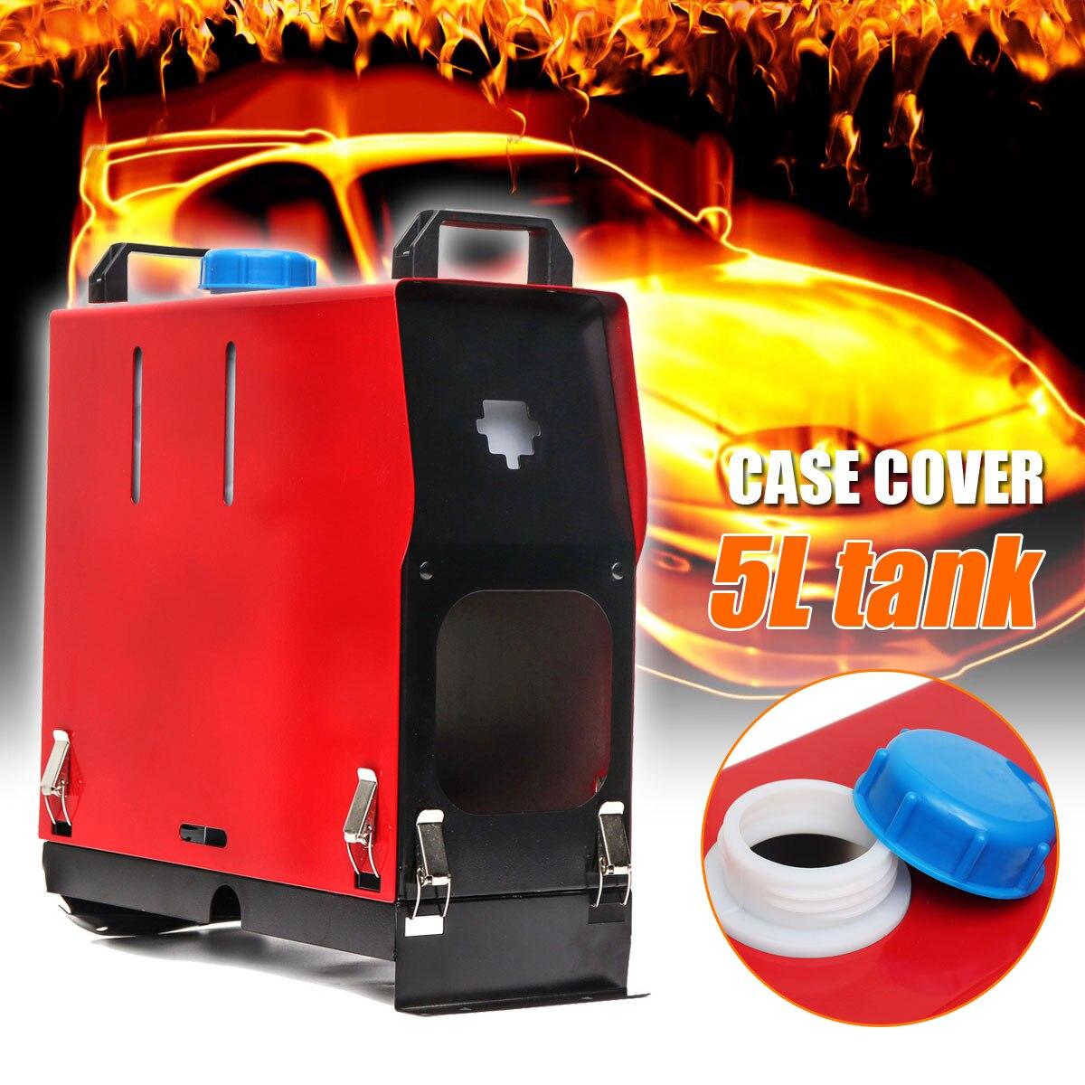 Autoleader 5L réservoir Air Diesels chauffage accessoires fer coque housse pour 12 V voiture chauffage 5KW alimentation pour caravane camping-Car