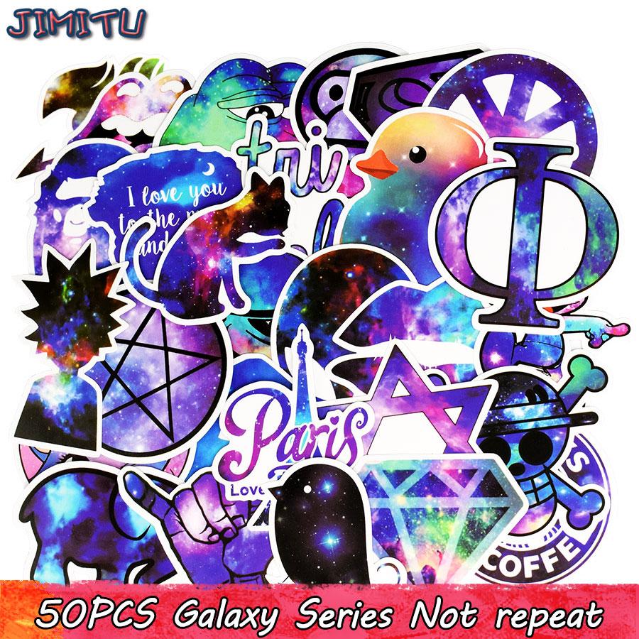 50pcs galax blandade klistermärken Anime Rolig JDM-klistermärke - Klassiska leksaker