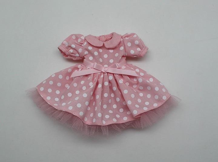 Neo Blythe Doll Polka Dot Princess Dress 3