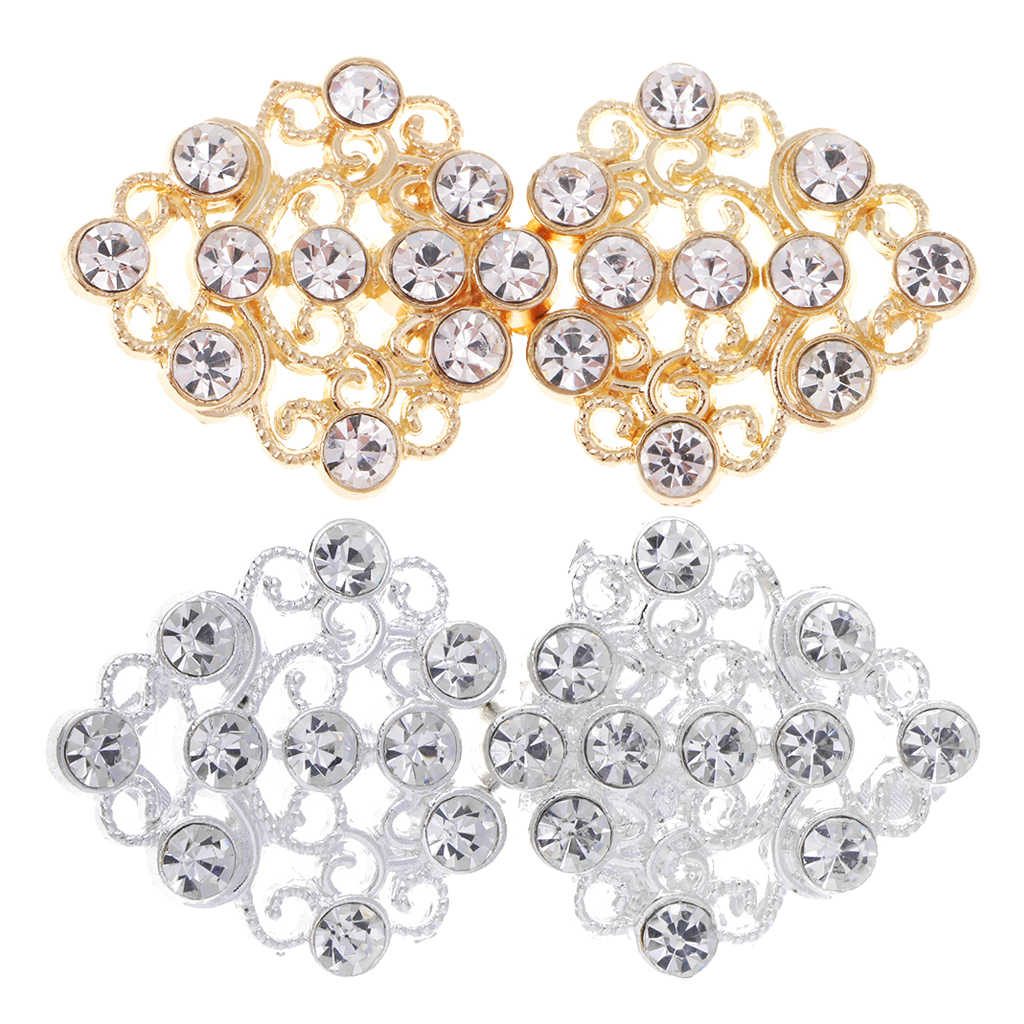 2fa8d203e2 Detail Feedback Questions about fityle 1 Pair Hollow Flower Crystal ...
