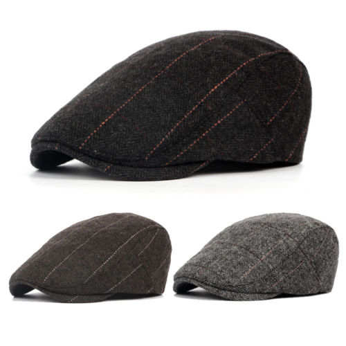 d0dc479c1e2d5 UK Mens Flat Cap Beret herringbone Newsboy Bakerboy Hat Gatsby Peaky  Blinders-in Berets from Apparel Accessories on Aliexpress.com | Alibaba  Group