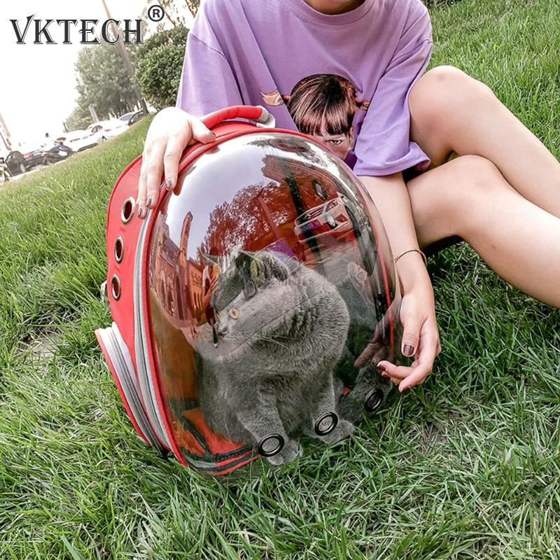 Image 3 - Breathable Pet Carrier Bag Portable Cat Dog Bag Basket Portable Outdoor Travel Backpack Pets Carrying Cage Pet SuppliesDog Carriers   -