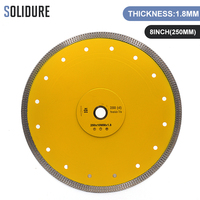 Hot sintered 10 inch X shape super thin 250mm diamond ceramic tile cutting blade for ceramic and porcelain tiles