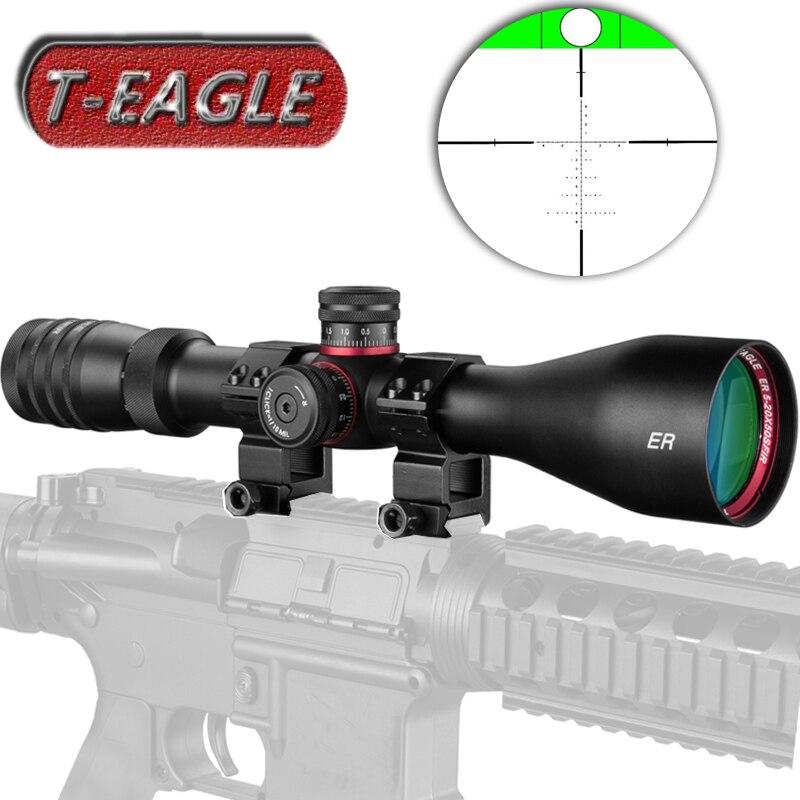 T-EAGLE 5-20x50 SFIR lunette de visée chasse viseur optique portée de fusil de mise au point latérale équipement de Sniper fusils à longue portée