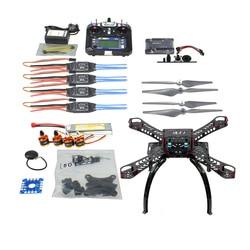 DIY RC Drone Quadrocopter RTF With Gimbal Frame Kit APM 2.8 FS-i6 TX F14892-J