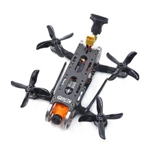 лучшая цена GEPRC GEP-CX Cygnet 2 115mm 2 Inch RC FPV Racing Drone Stable F4 20A 48CH RunCam Split Mini 2 1080P HD BNF/PNP FPV Quadcopter